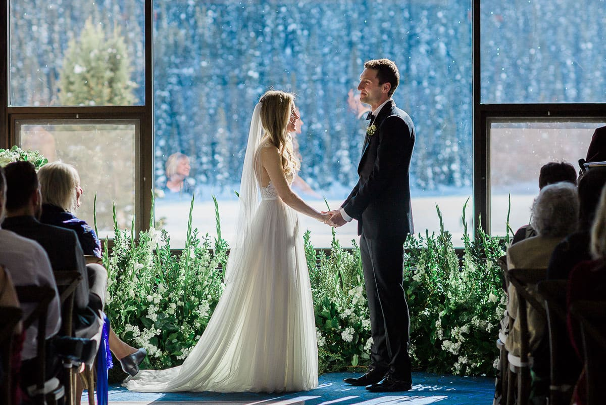 Victoria Ballroom wedding Ceremony at the Chateau Lake Louise